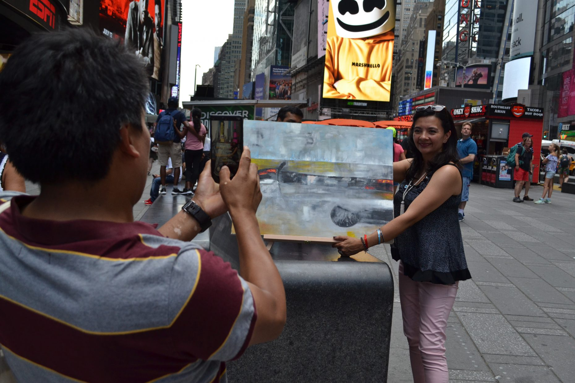 Arte al paso Reflecting_Source_NY19